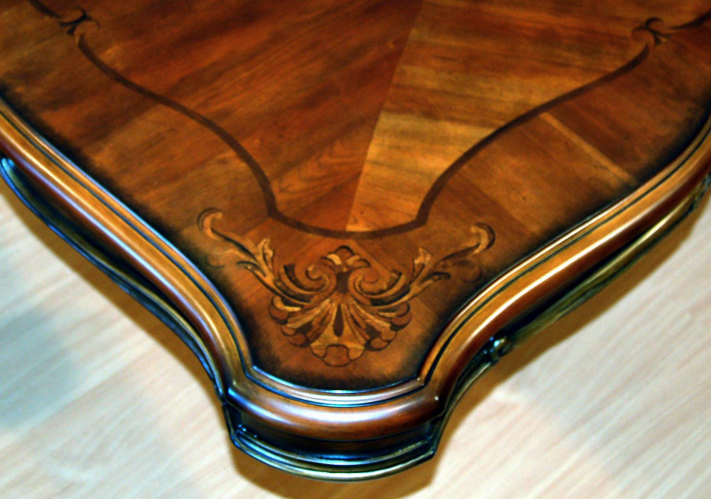 Detail View3  Detail View4. Mahogany and More Dining Tables   Ornate French Rococo Large
