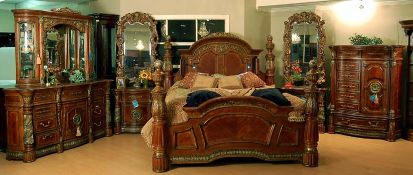 Mahogany and More Bedroom Sets - AI-72000EKP-55-Villa-Valencia ...