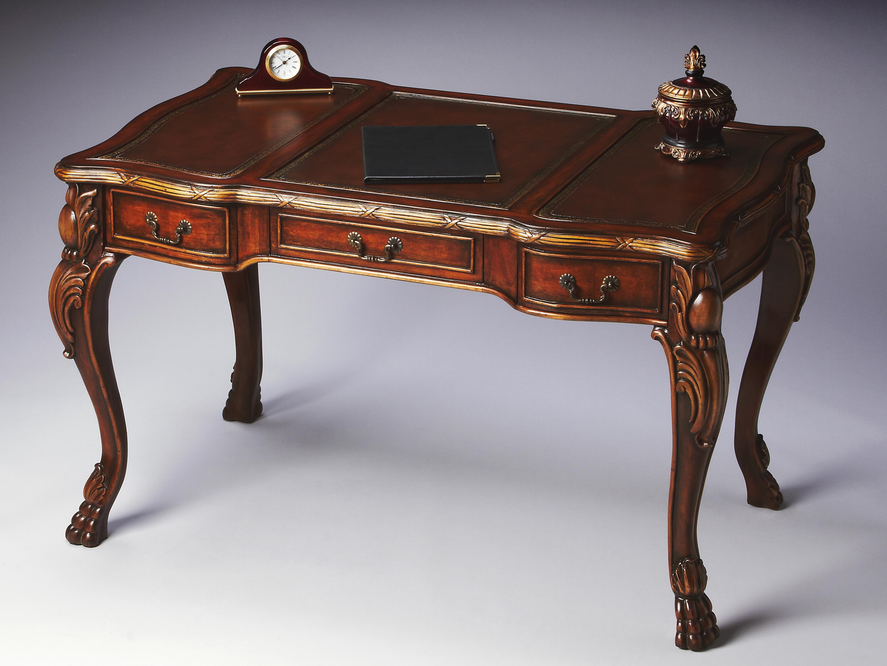 Ornate writing desk