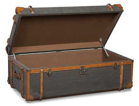 mahogany and more new arrivals - coffee table storage steamer trunk
