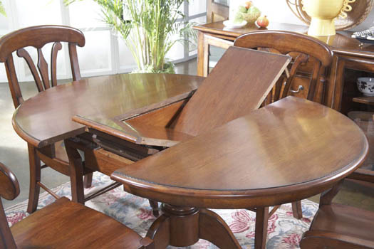Round Dining Table With Butterfly Leaf Best Dining Table Ideas