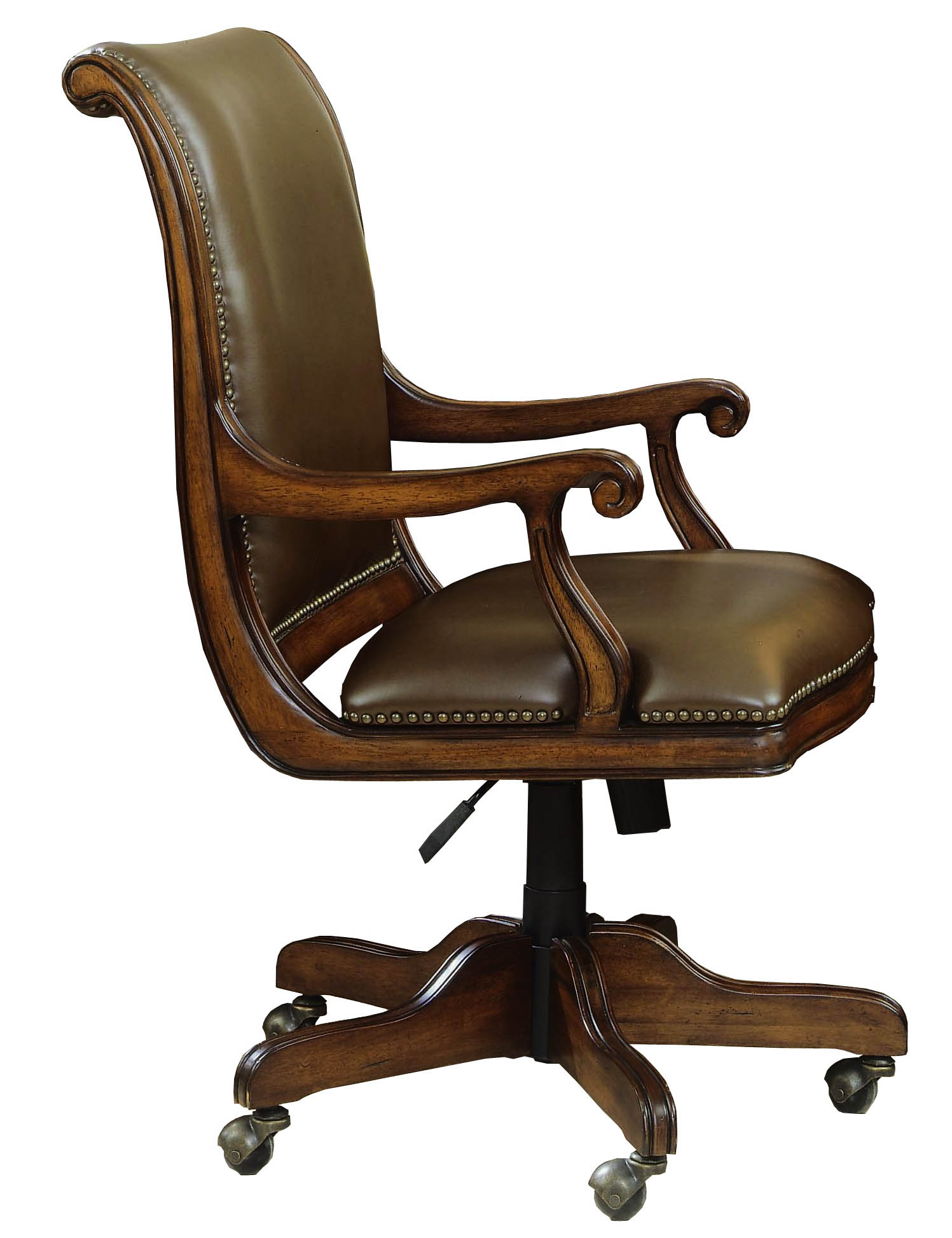 mahogany and more office chairs denbrook summer cherry leather