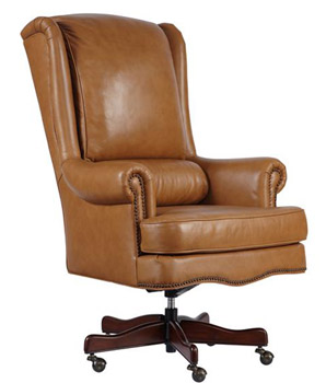 mahogany and more office chairs genuine tan leather
