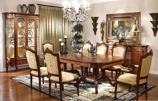 Mahogany and More Table and Chair Sets - Ornate French Louis XVI 11 ...