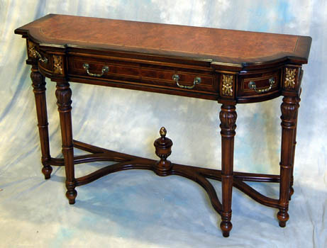 Mahogany and more sofa tables ornate french console hall table lv 970 - Ornate hall table ...