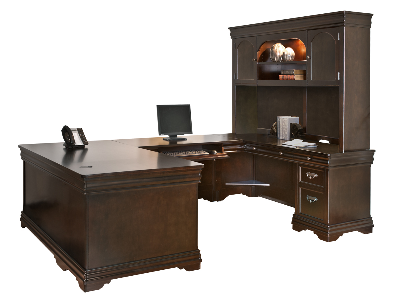 Beaumont U Shaped Office Desk Full View 1
