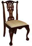 Mahogany Dining Chair- Side