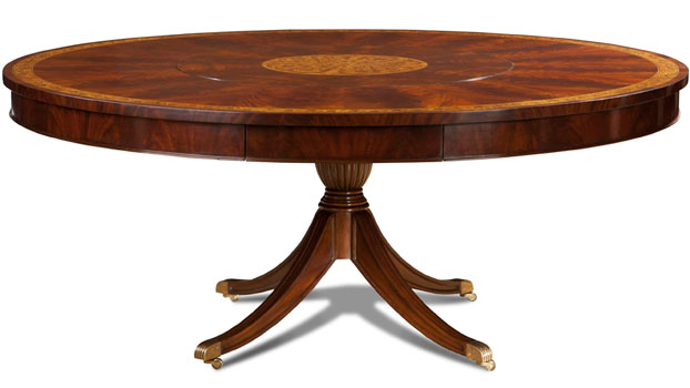 Mahogany And More Conference Tables Crotch Mahogany Lazy Susan - 72 inch round conference table