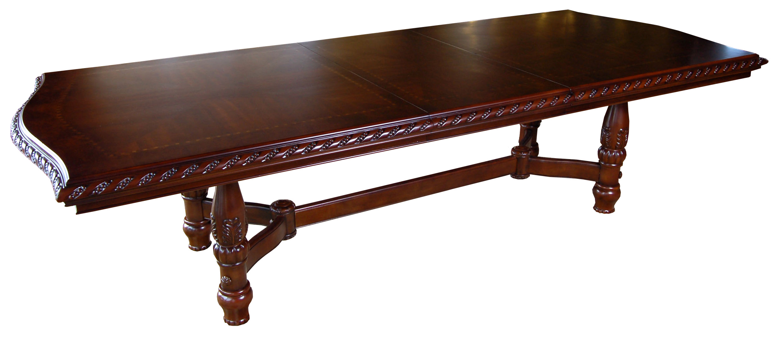 Details about Large 10 ft Mahogany Dining / Conference Table