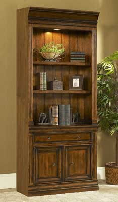 Devonshire 32\  Straight Bookcase with Doors ... & Mahogany and More Bookcases - Devonshire 32\