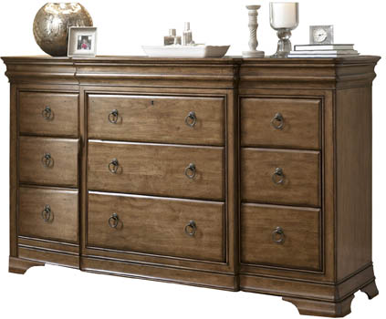 High Quality Pennsylvania House Solid Wood 12 Drawer Dresser ...