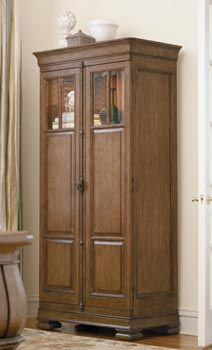 Pennsylvania House Solid Wood Tall Linen Cabinet ...