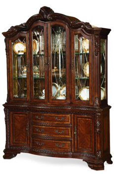 Vintage Victorian China Cabinet ...