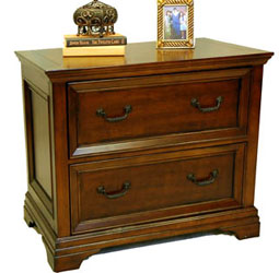 Traditional Cherry Locking Lateral File Cabinet · Product Detail,  Traditional Cherry Office Credenza ...